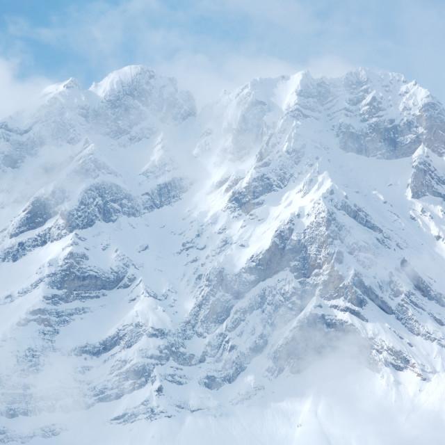 """Mount Cascade"" stock image"