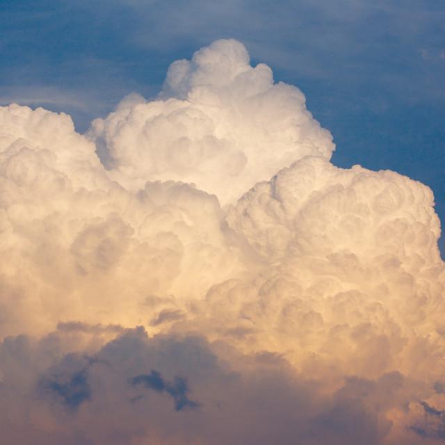 """""""Huge storm cloud"""" stock image"""