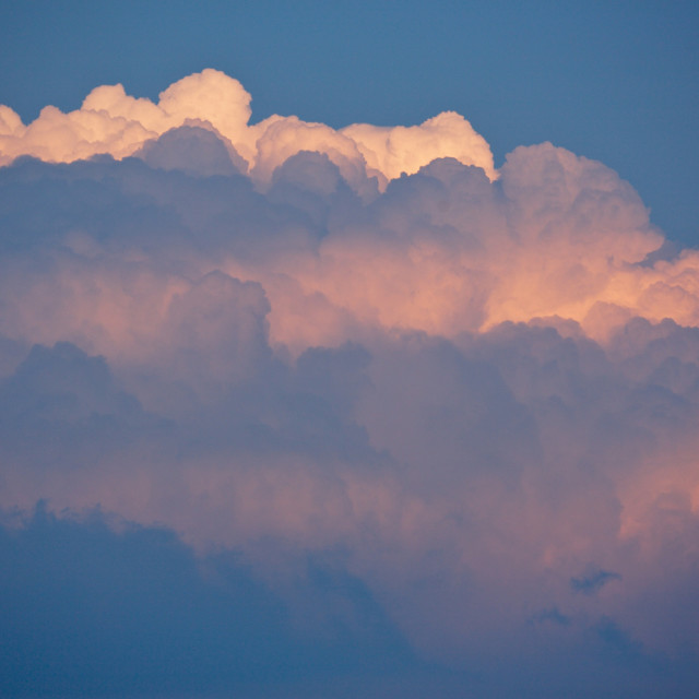 """Huge thunderstorm cloud"" stock image"