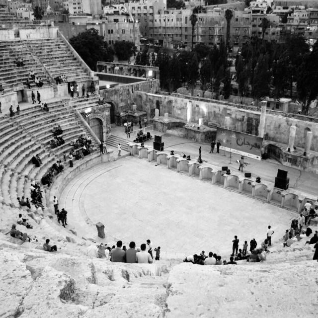 """Roman Amphitheatre"" stock image"