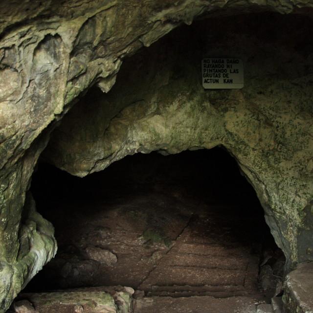 """""""Actun Kan Cave, Guatemala"""" stock image"""