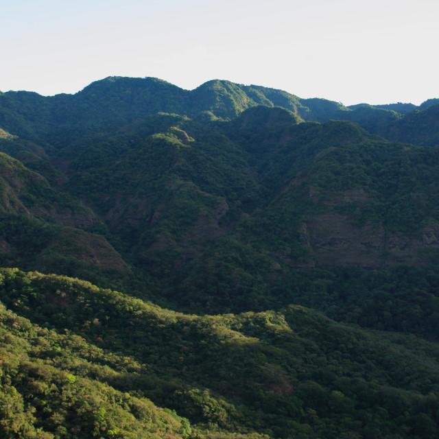 """""""El Imposible National Park, El Salvador"""" stock image"""