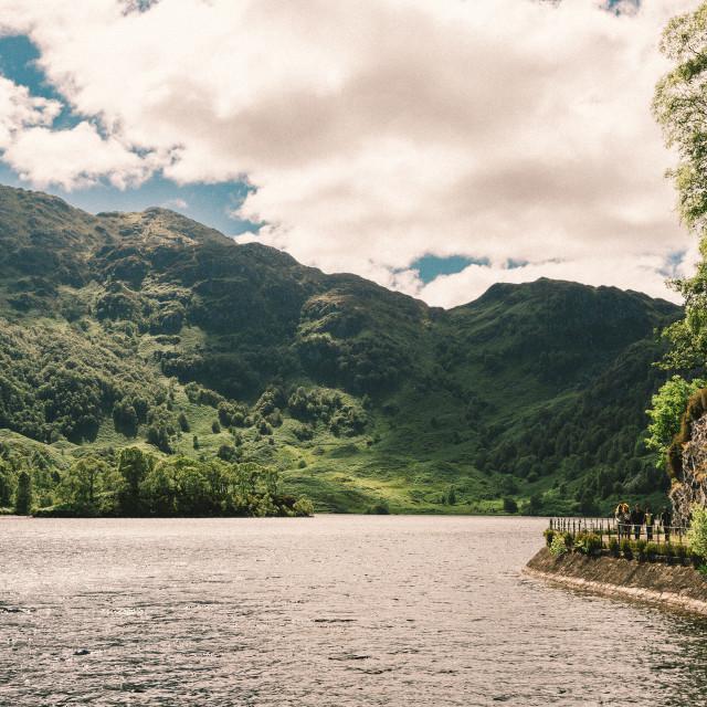 """""""Ben Venue, Loch Katrine"""" stock image"""