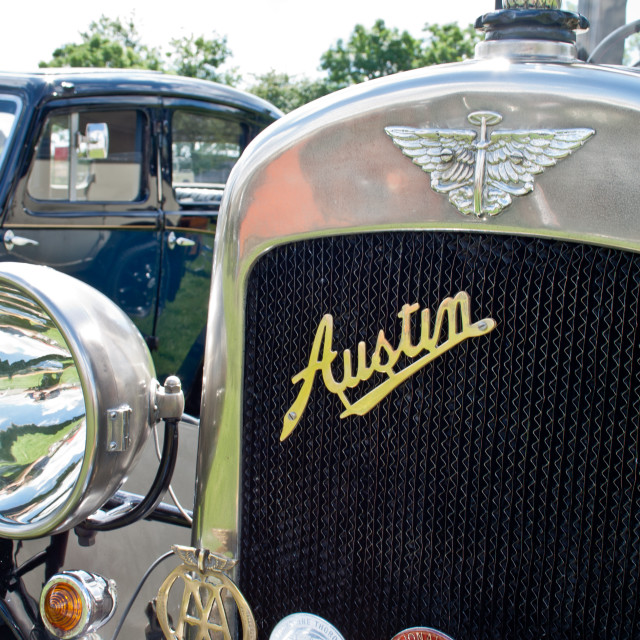 """Austin Front Grill"" stock image"