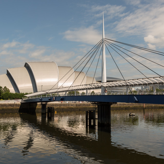 """Clyde Auditorium, Glasgow"" stock image"