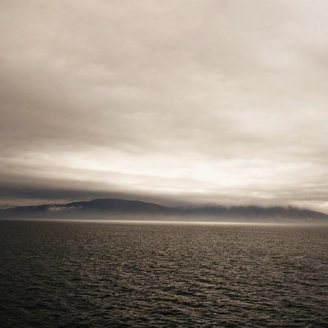 """Cook Strait"" stock image"