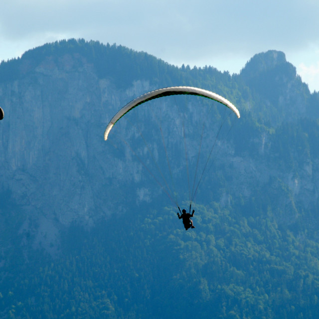 """Hang gliding"" stock image"