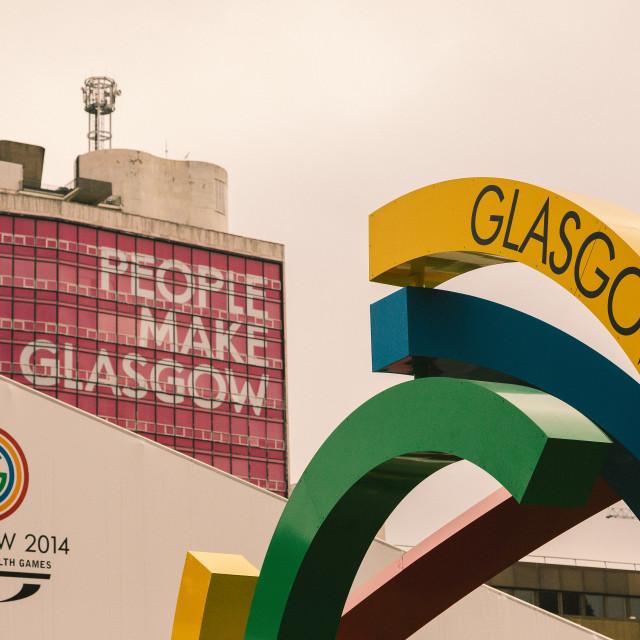 """Glasgow 2014 logo"" stock image"