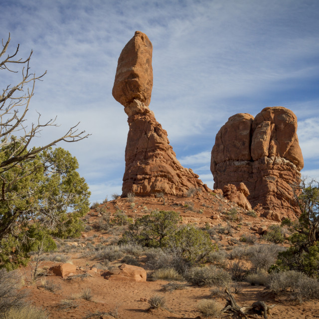 """Balanced Rock"" stock image"
