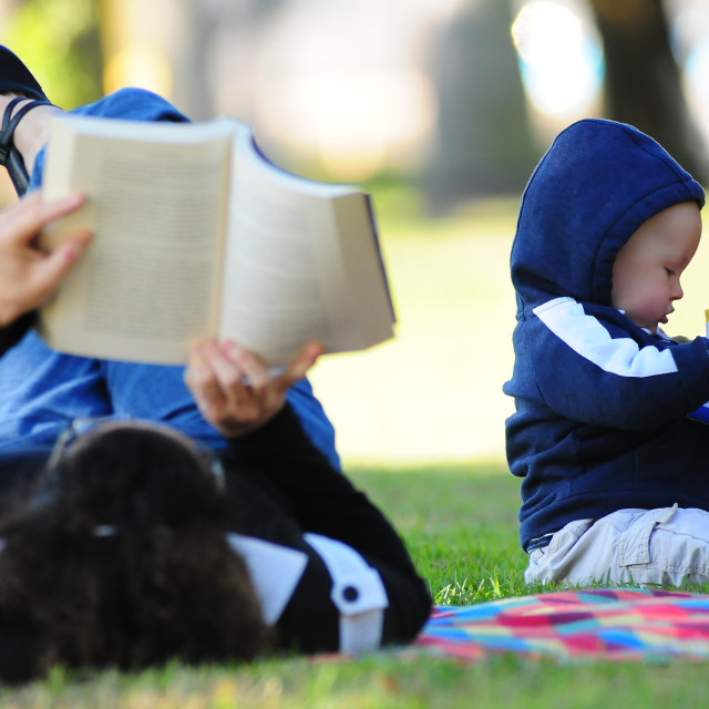 """""""Bookworms"""" stock image"""
