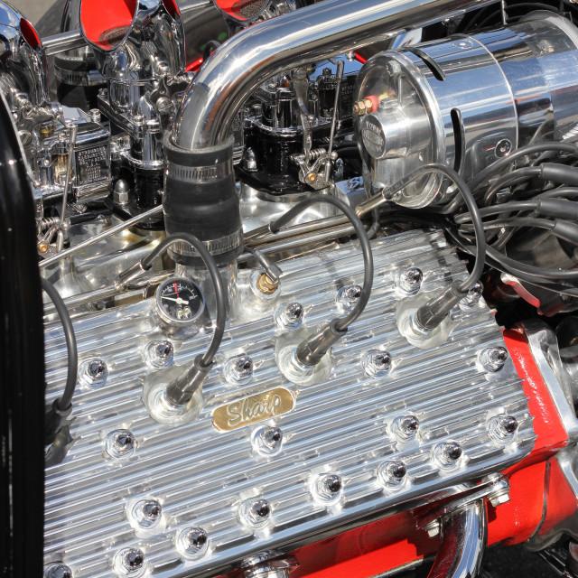 """""""Hotrod engine"""" stock image"""