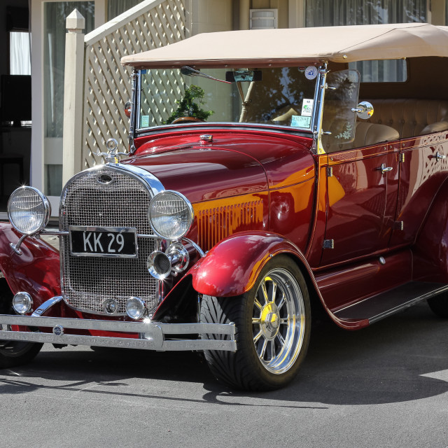 """'29 Ford street rod"" stock image"
