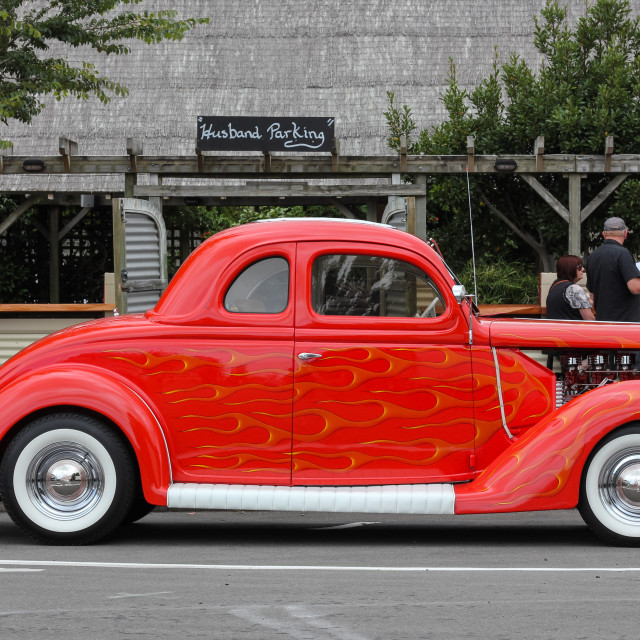 """'35 Ford Coupe"" stock image"
