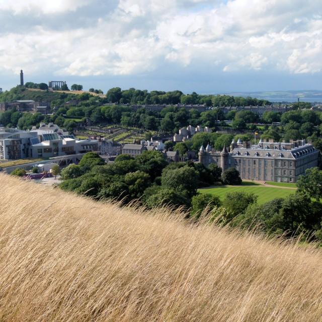 """""""Holyrood, Edinburgh"""" stock image"""