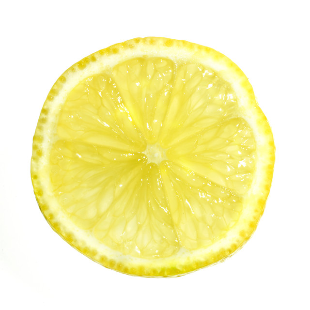 """A slice of Lemon"" stock image"