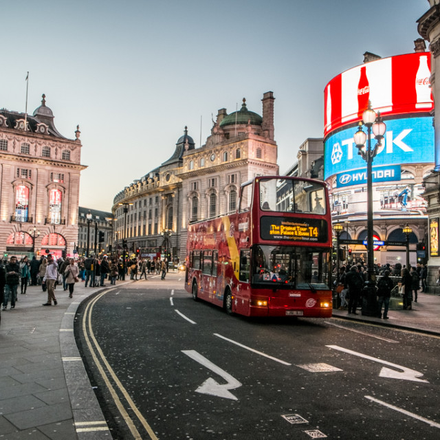 """Piccadilly"" stock image"