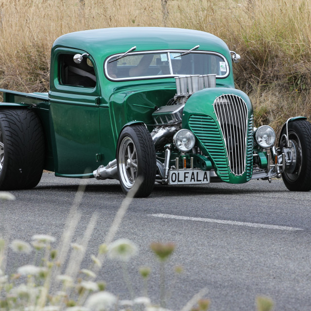 """""""1937 Ford Pickup"""" stock image"""