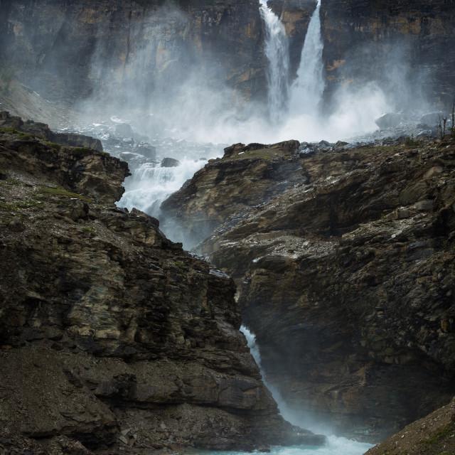 """""""Twin Falls"""" stock image"""