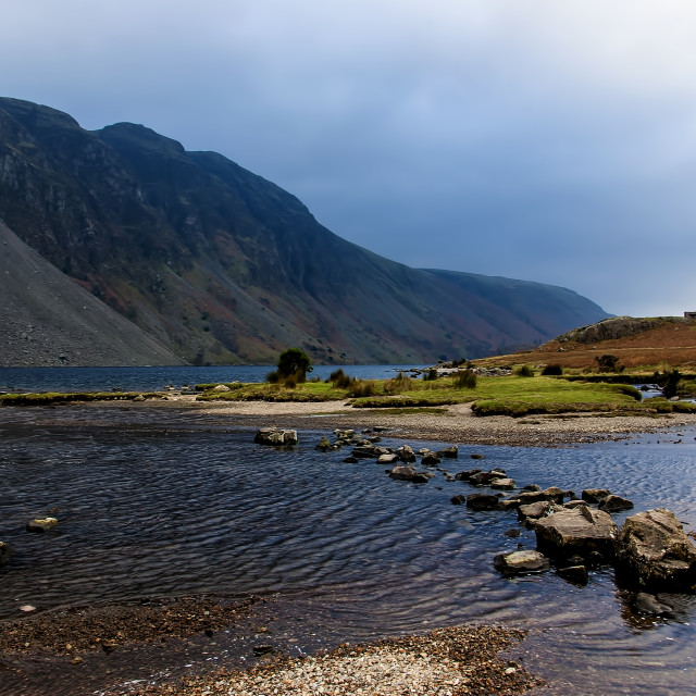 """""""Wastwater Lake District"""" stock image"""