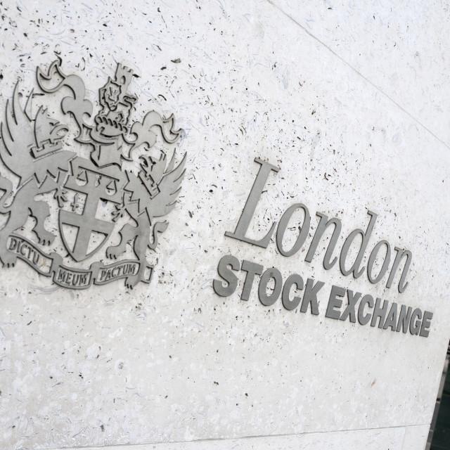 """London Stock Exchange"" stock image"
