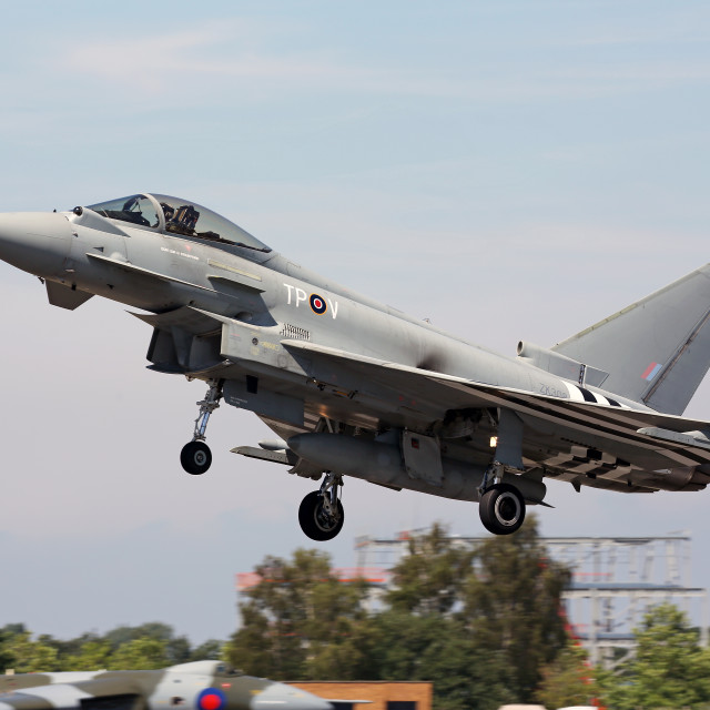 """Eurofighter Typhoon FGR4"" stock image"