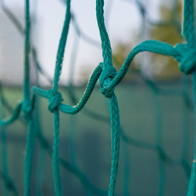 """""""Soccer goal net"""" stock image"""