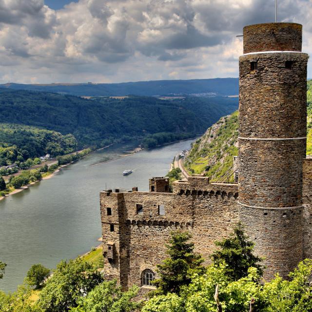 """""""Maus Castle"""" stock image"""