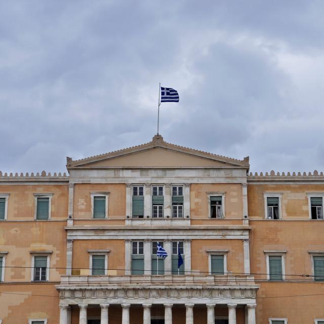 """hellenic parliament"" stock image"