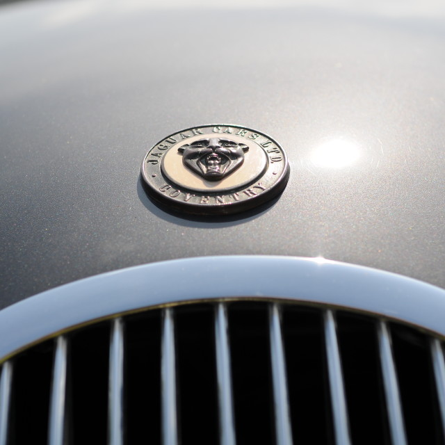 """Jaguar Cars Coventry"" stock image"