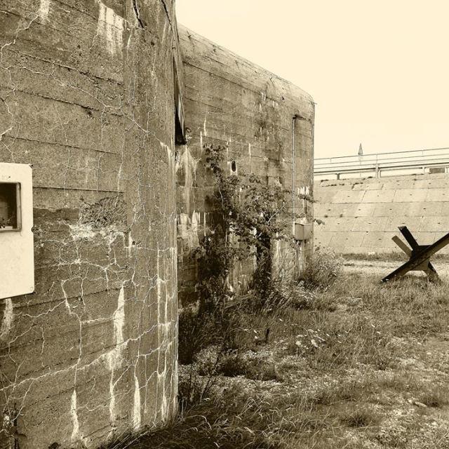 """German Bunker in Denmark"" stock image"