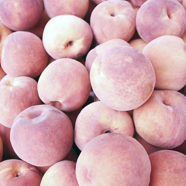 """Peaches"" stock image"
