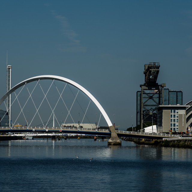 """The Heart of Glasgow"" stock image"