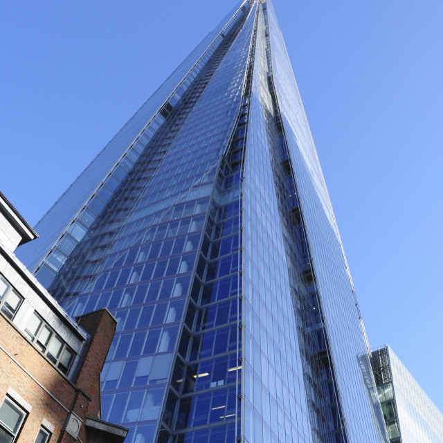 """The Shard - London Skyscraper"" stock image"