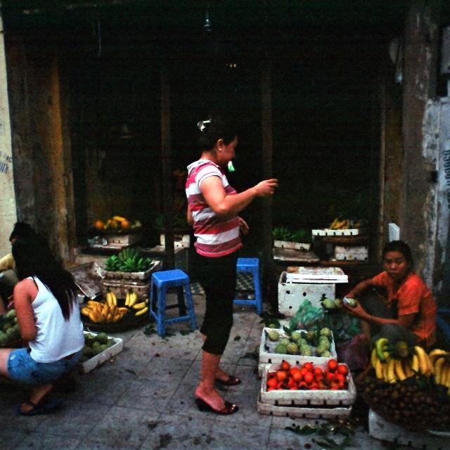 """Hanoi- Old Quarter"" stock image"