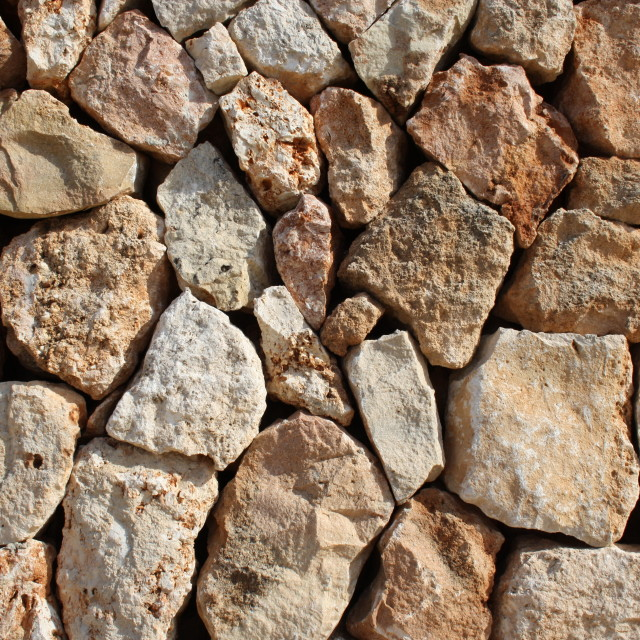"""Stone wall."" stock image"