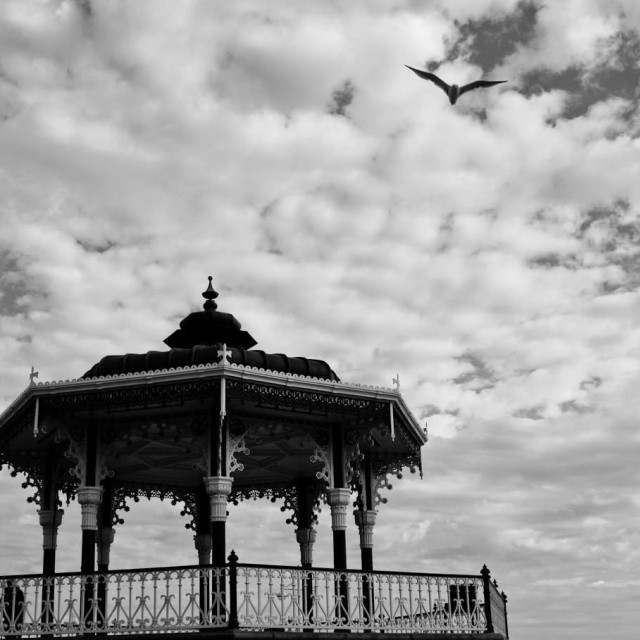 """""""Bandstand"""" stock image"""