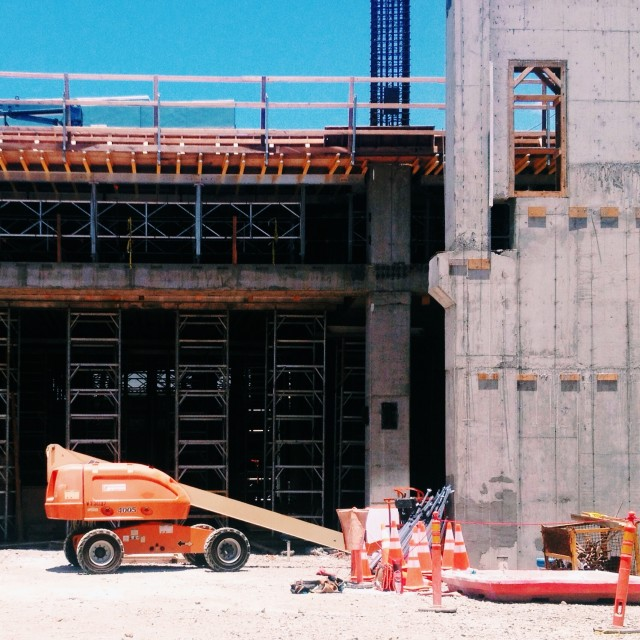 """Construction Hawaii"" stock image"
