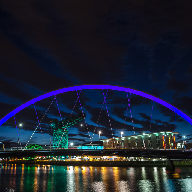 """The Clyde Arc"" stock image"