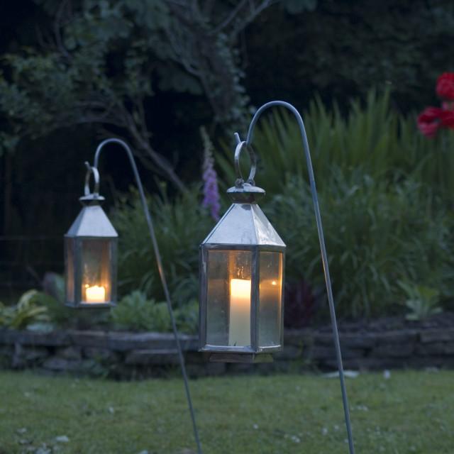 """Garden Lights"" stock image"