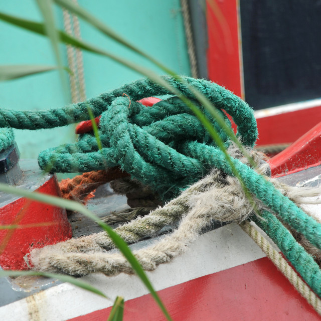 """""""Knotted ropes"""" stock image"""