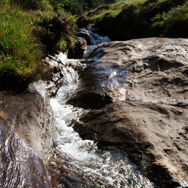"""Scottish Stream"" stock image"