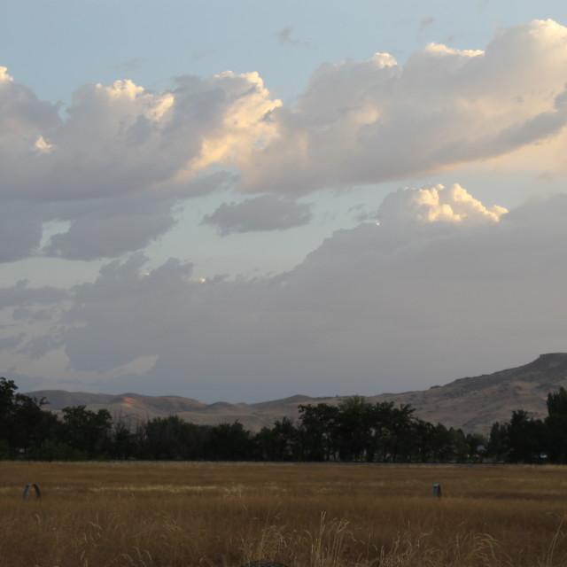"""Idaho mountains"" stock image"