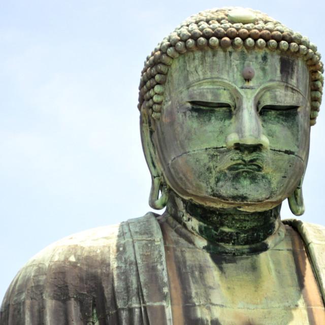 """Great Buddha"" stock image"