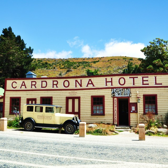 """Cardrona Hotel"" stock image"