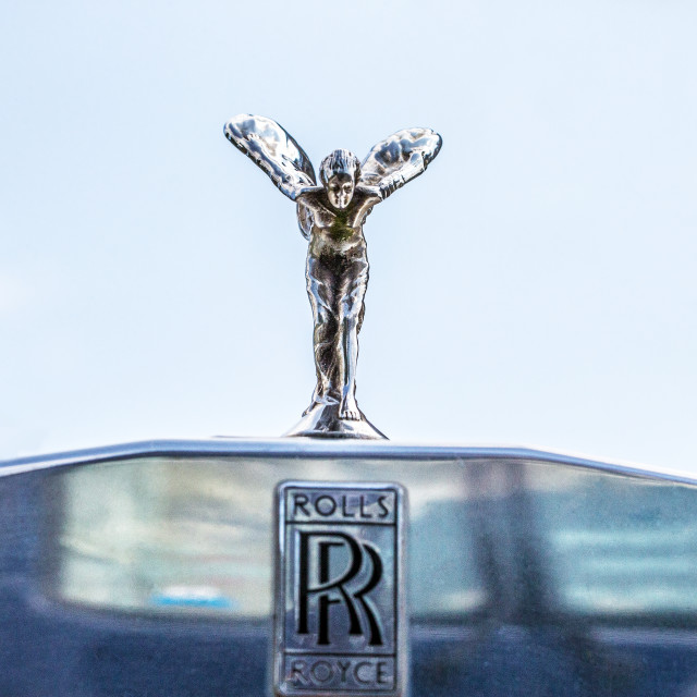 """Spirit of Ecstasy"" stock image"
