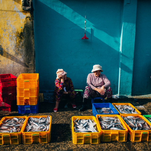 """Fish-market"" stock image"