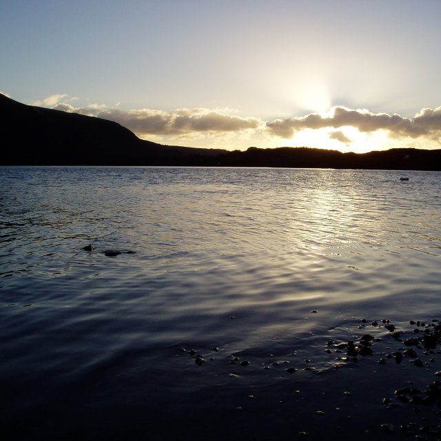 """""""Wastwater at Sunset"""" stock image"""