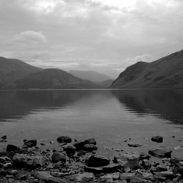 """""""Ennerdale Water, Lake District"""" stock image"""