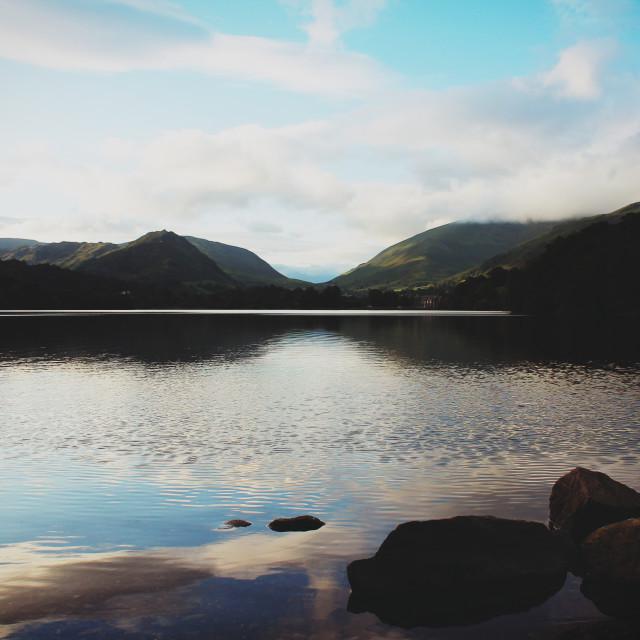 """Keswick, Lake District"" stock image"