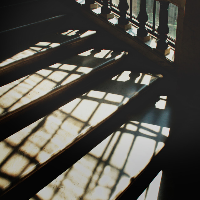 """Stairway, Rome"" stock image"